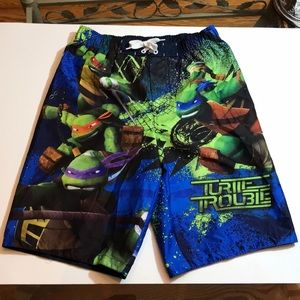 Mutant Ninja Turtles Swim Trunks Board Shorts